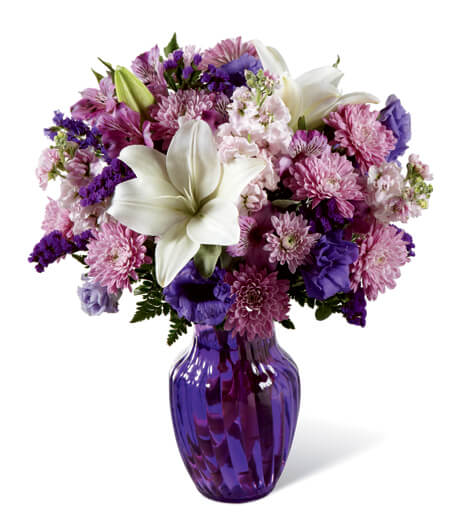 The Shades of Purple Bouquet