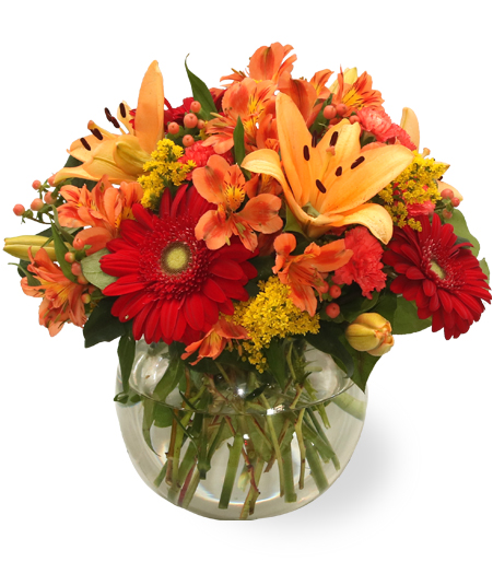 All in Orange Bouquet