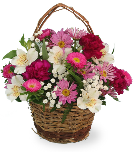 Flower Basket of Happiness