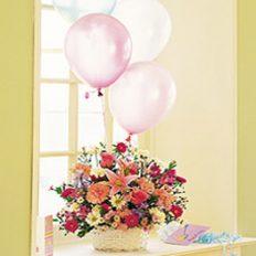 Send Birthday Flowers Balloons